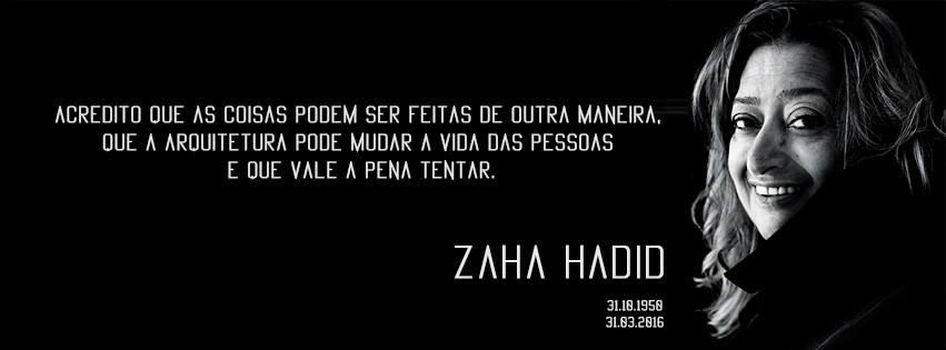 Zaha Hadid frase