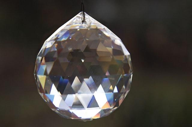 クリスタルガラスボール