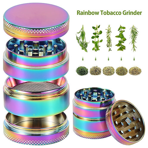 4-Layer Herb   Manual Hand Herb/ Spice Grinder