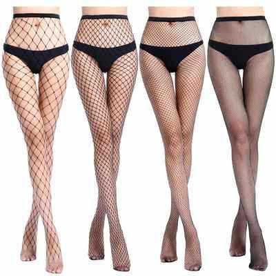 SEXY Women High Waist Fishnet Stocking