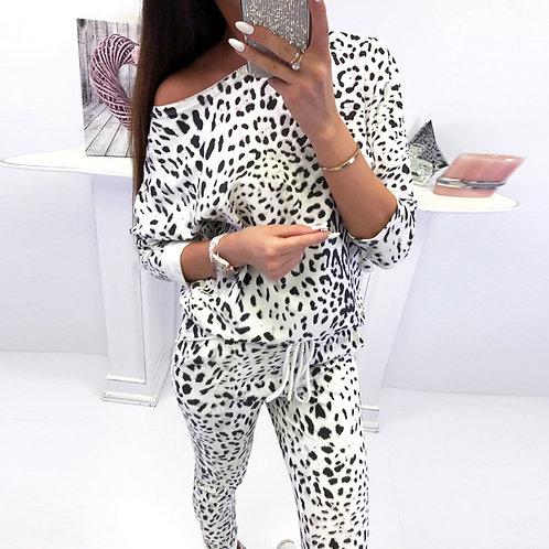 Womens 2PCS CamouflageTracksuits Sets