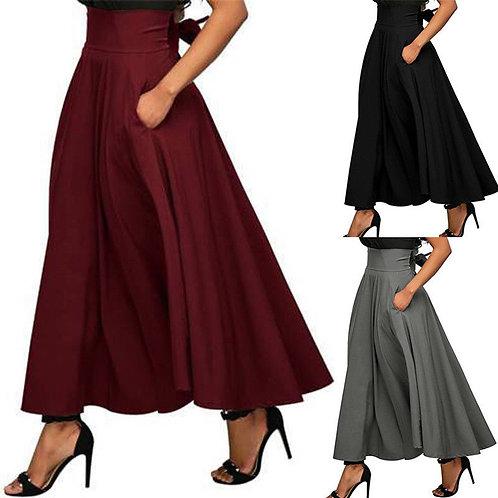 Gypsy Maxi Skirt +Pockets 5 Sizes Long Skirt