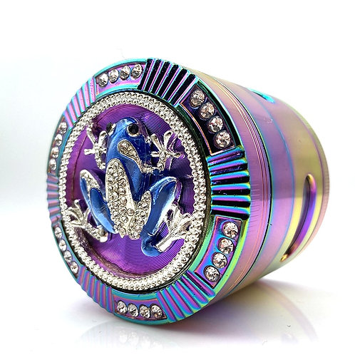 New Style Tobacco  Frog Shape 4 Layer Grinder