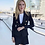 Thumbnail: Women  Formal Double Breasted Button Blazer