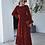 Thumbnail: Autumn Vintage Red Dress Vestidos Clothes Women 2020
