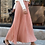 Thumbnail: Floral Embroidery A-Line Tutu Lace Mesh Skirt Women Elegant Long Pleated Skirt