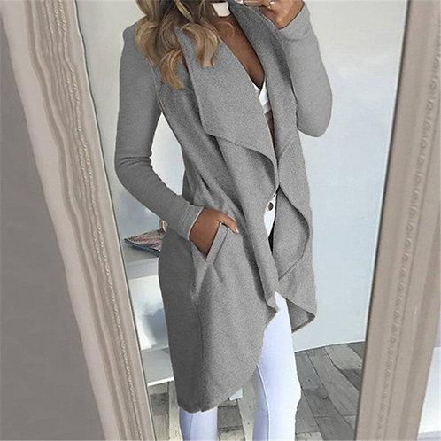 Fashion Women Open Front Jacket