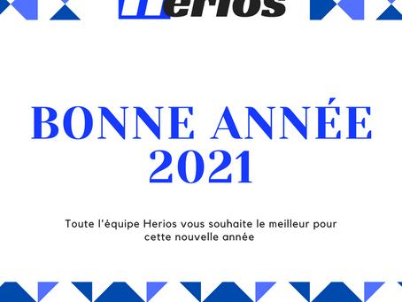 Herios vous souhaite une bonne année 2️⃣0️⃣2️⃣1️⃣