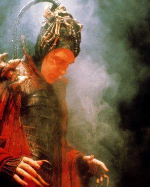 """L'Esprit du Mal (rôle pris par David Warner), dans """"Time Bandits"""" (""""Bandits, Bandits"""", pour le titre français)."""