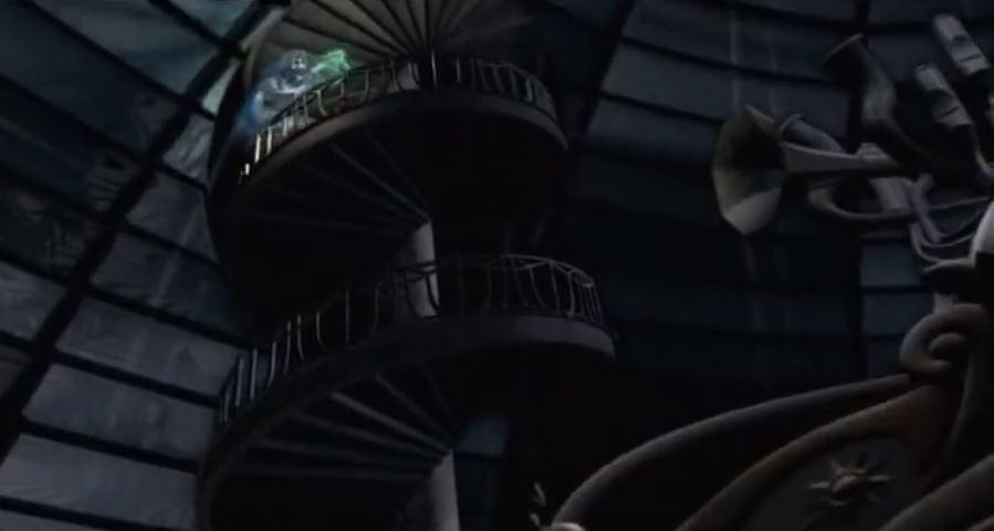 Je vous avais dit de refermer la porte : voilà les courants d'air qui s'amusent à dégrader les lieux  ! Heureusement que Moongirl est là !
