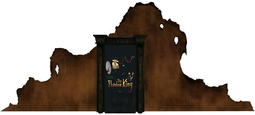 """Ruines de la porte de """"The Shadow King"""". Alors ? Il ne vous dit vraiment rien, ce visuel de porte ? Allez, je vais vous aider : il est issu d'un jeu vidéo. Lequel ?"""