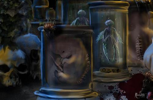 Des êtres inachevés, de la mort et des insectes pour les garder ! Les voilà, les arthropodes !