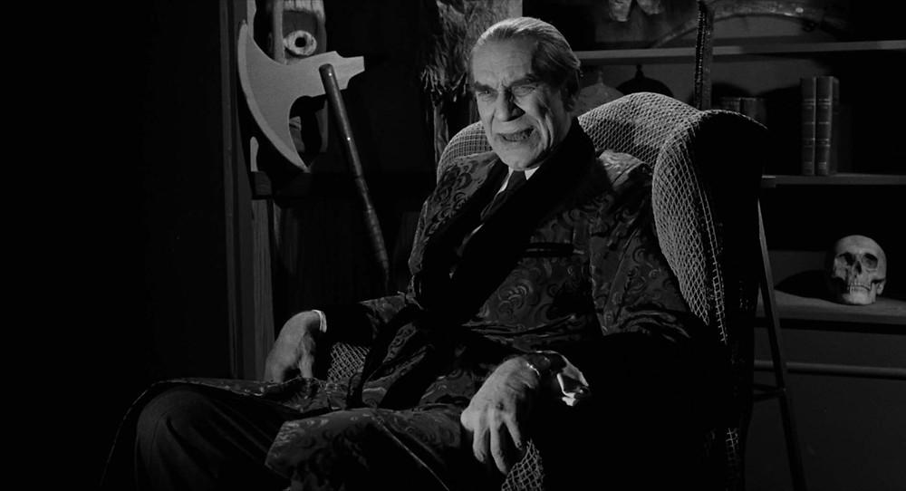 Le fier, autant que déchu, Béla Lugosi par Martin Landau !