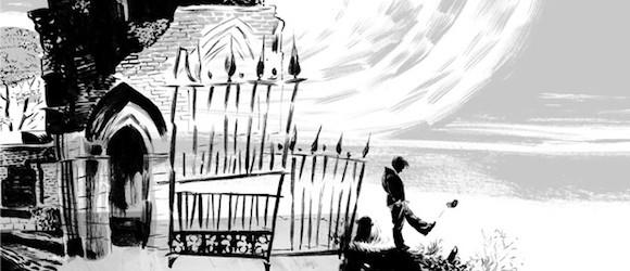 Un cimetière, comme une prison, sous une nuit bien pâle ?