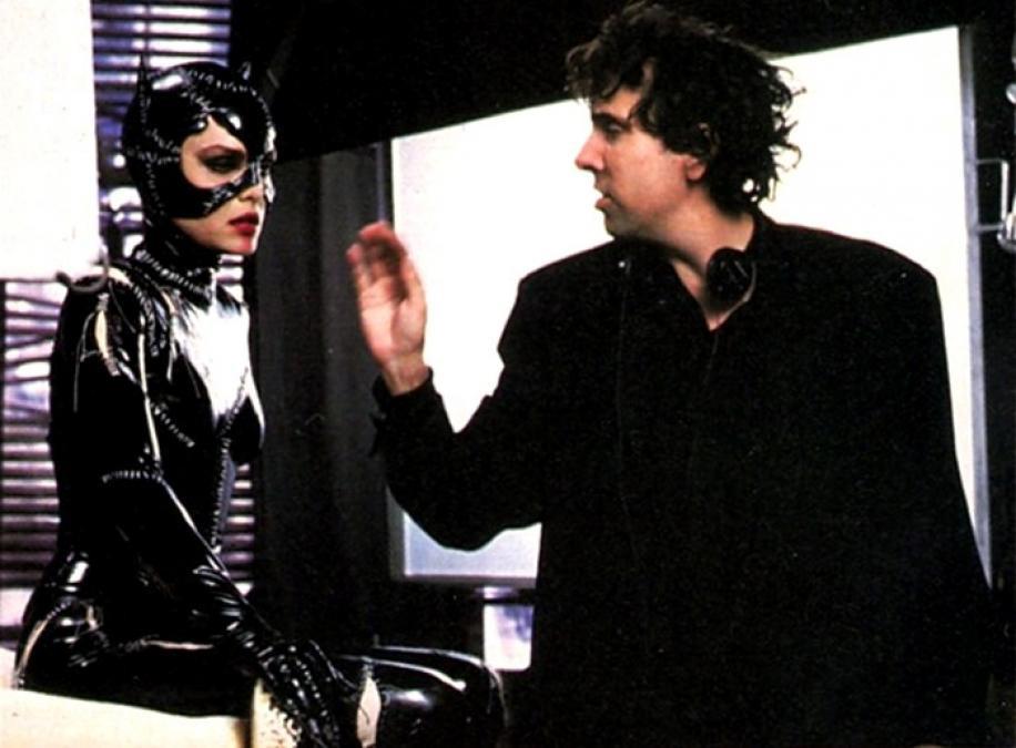 Tim Burton dirigeant Michelle Pfeiffer.