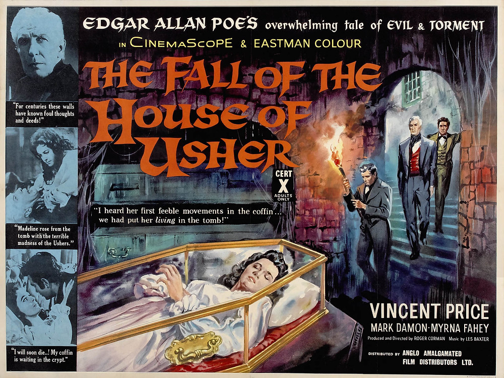 """En parlant de Roger Corman, son film """"La Chute de la Maison Usher"""" a aussi inspiré un projet jamais accompli. En 1994, Jonathan Gems et Tim Burton entreprennent une adaptation déjantée de cette nouvelle d'Edgar Allan Poe, délocalisée dans le Burbank moderne. De cette envie, ne reste que les vestiges d'un scénario raturé et froissé."""