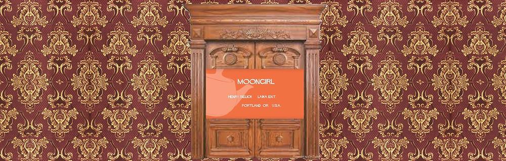 """La Porte """"Moongirl"""". Refermez derrière vous, à cause des courants d'air (ou, devrais-je dire, """"des courants de ciel"""") !"""