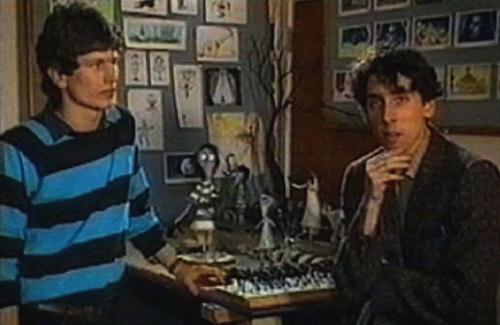 Rick Heinrinchs (à gauche) et Tim Burton (à droite), surpris en plein rêve...