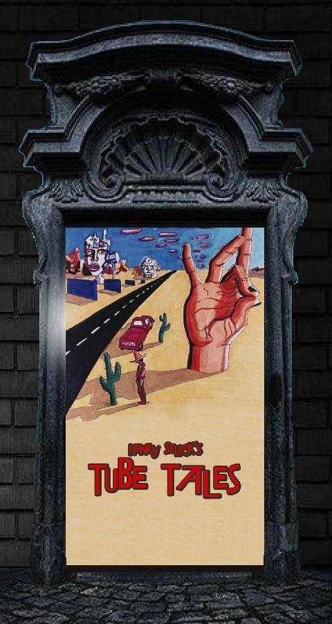 """La Porte """"Tube Tales"""" ! Prières de ne toucher à rien, même pas à la poignée, même si vous vous retrouvez enfermé(e)(s) !"""