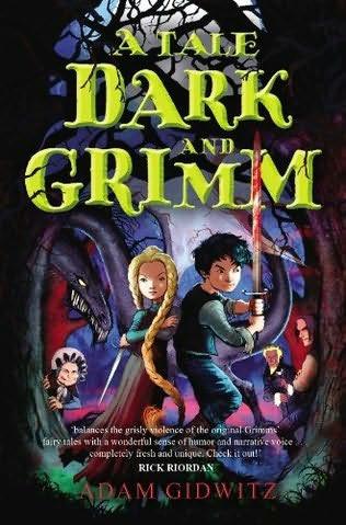 Couverture du livre d'Adam Gidwitz. Reconnaissez-vous certains personnages Grimm-iens bien grimés ?