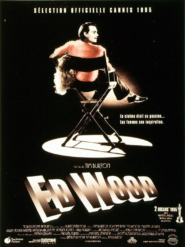 """Affiche du film présentant le """"personnage"""" d'Ed Wood Jr.."""