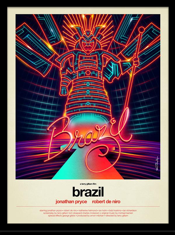 """Le Monstre de Néons qui hante """"Brazil""""..."""