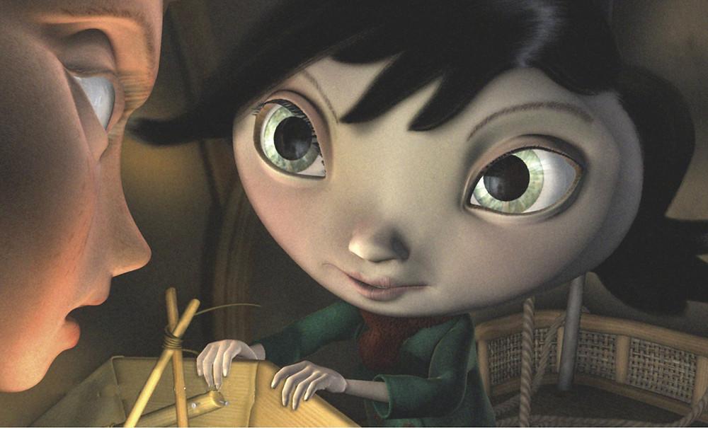 Moongirl et son apprenti.