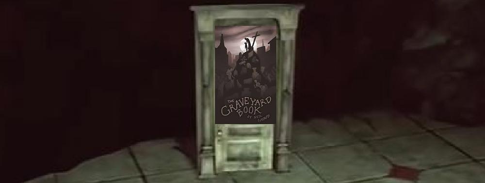 """Vestige de la porte de """"The Graveyard Book"""". D'ailleurs, l'esthétique de cette porte vous évoque-t-elle quelque chose ?"""