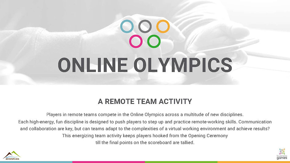online Olympic intro