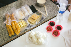 Traditional Taiwanese Breakfast