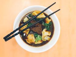Beef Dumpling Soup
