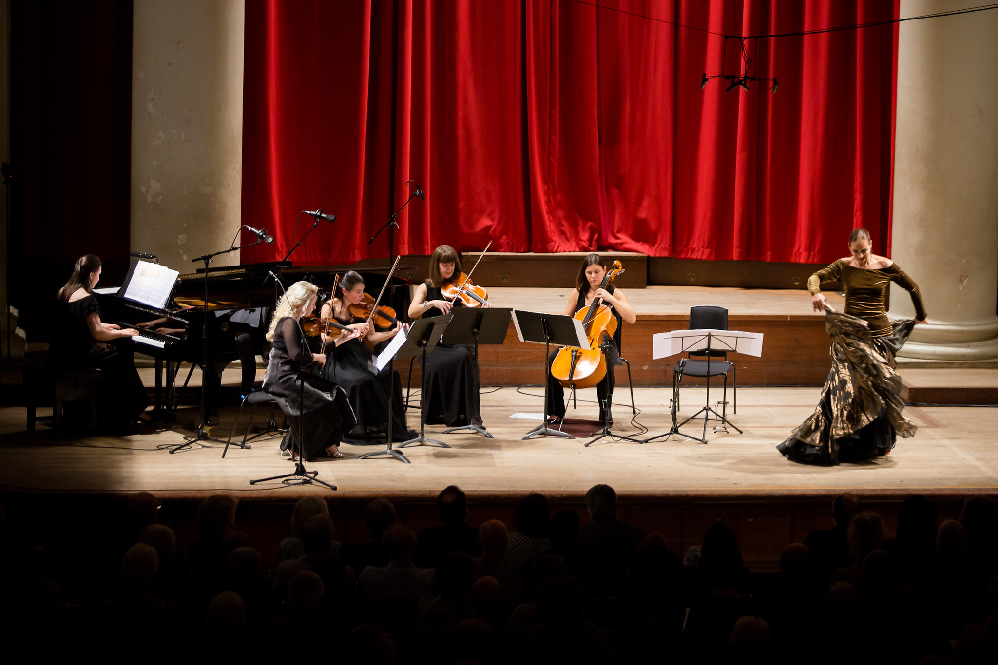 ILAMS ensemble, Goya concert