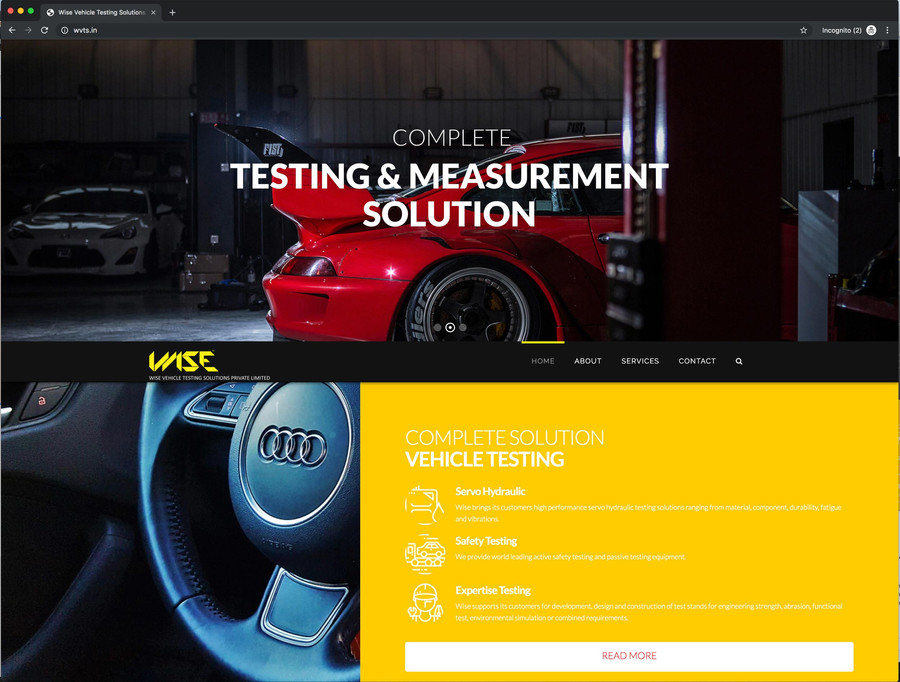 Testing & Measurement Solution