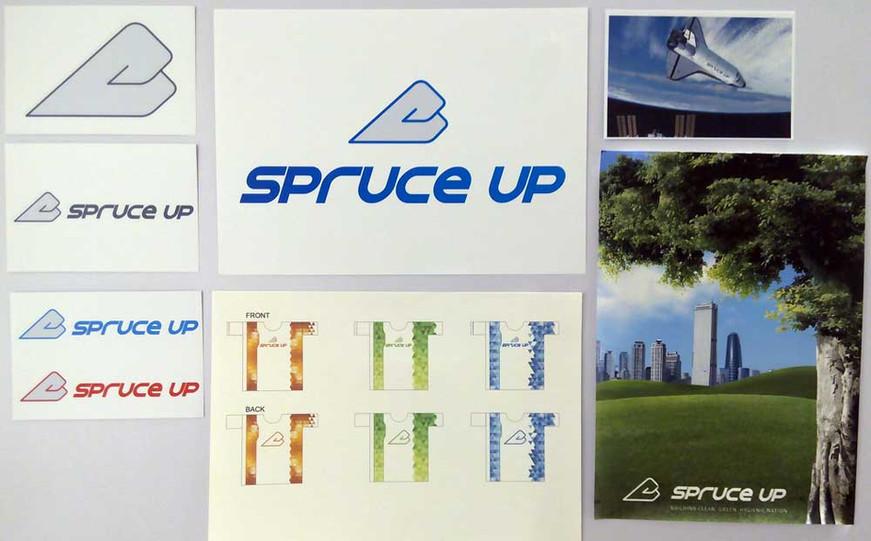 Spruce Up Logo