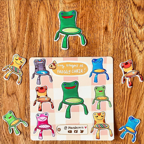 Froggy Chair As Frog Villagers Series 1