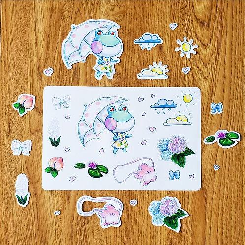 Lily Sticker Sheet