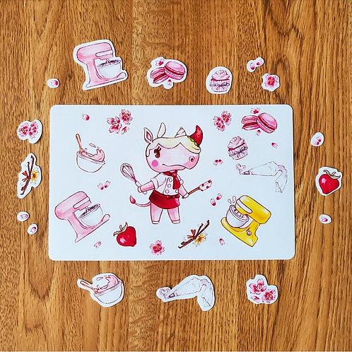 Merengue Sticker Sheet