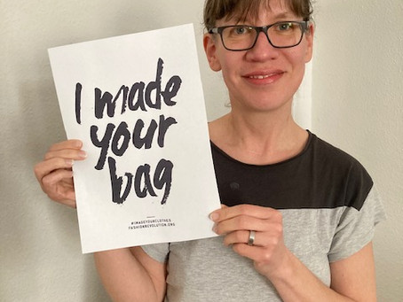 We made your bag ...