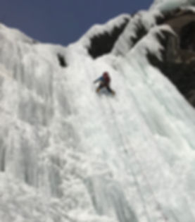 Norway ice climb