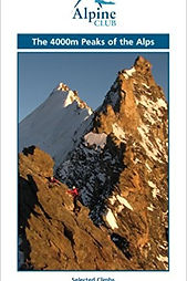 The 4000m Peaks of the Alps by Martin Moranbook cover