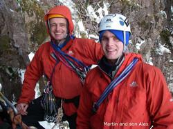Martin and son Alex Beinn Bhan 2007