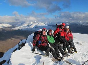 winter mountaineering scotland
