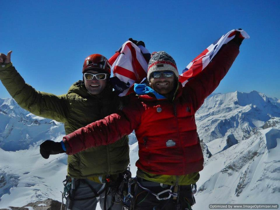Mark Thomas 1st ascent Tharang 2012