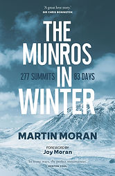 The Munros in Winter by Martin Moran book cover