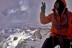 Martin Moran on Summit of Gangsthan 6170 m