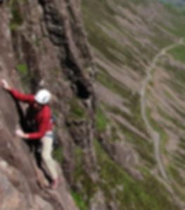 Rock climbing Applecross