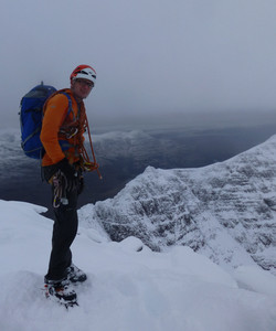 Martin Moran winter mountaineering Scotland