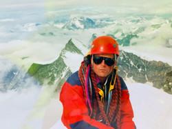 Martin Moran during Alps 4000
