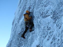 Scottish winter climbing,  Sioux Wall