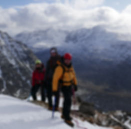 Winter mountain Torridon